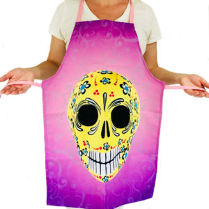Purple Mexican Apron