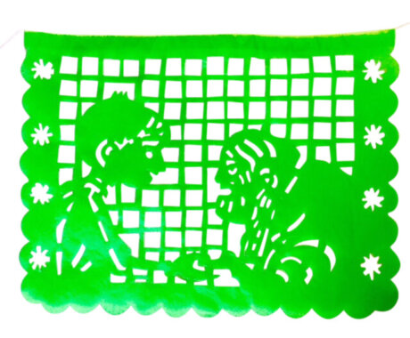 Papel picado inspired by the Coco movie.