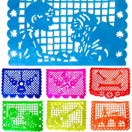 Coco inspired papel picado hand made in México.