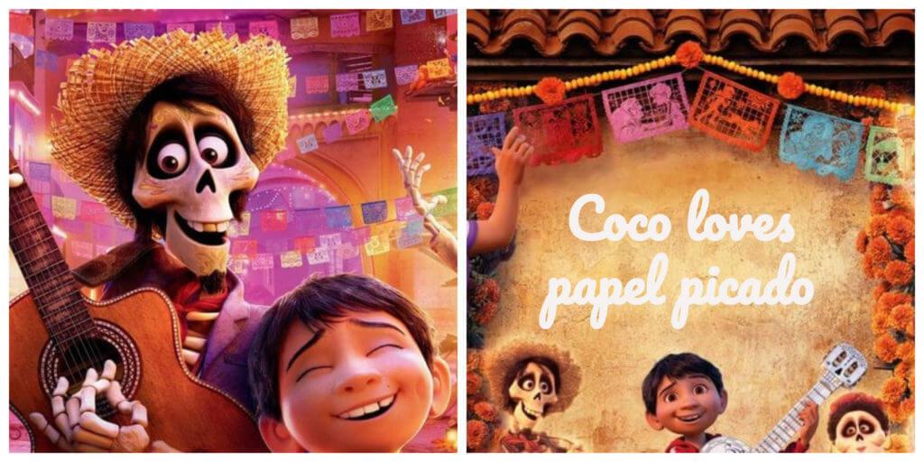 Miguel from Coco loves papel picado.