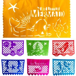 Little Mermaid Paper Papel Picado