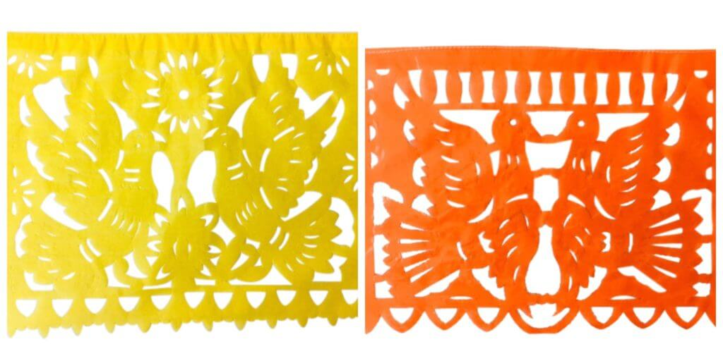 Paper papel picado flags for all occasions.