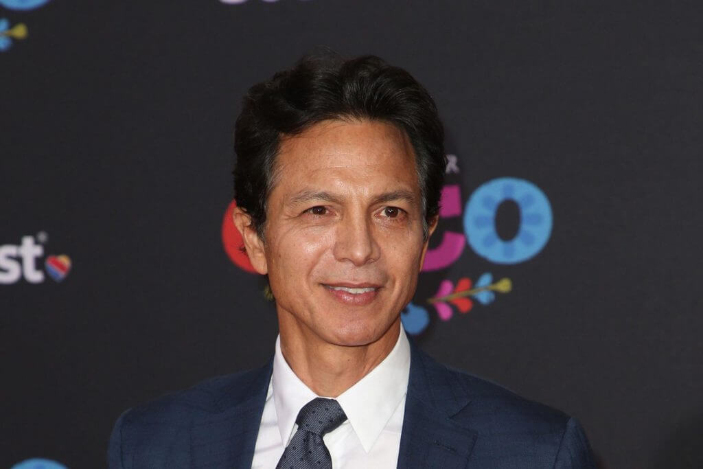 Benjamin Bratt as Ernesto de la Cruz in Pixar's Coco.