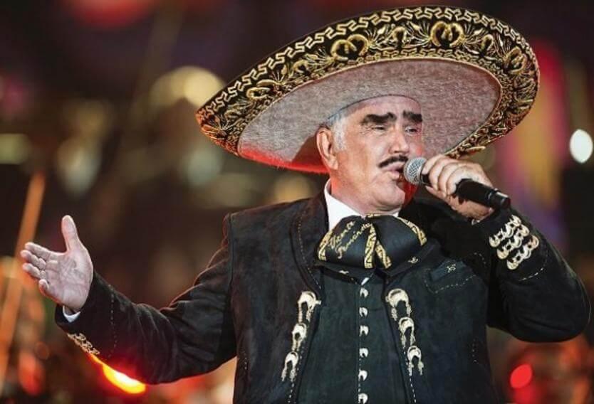 Vicente Fernandez Ranchera singer.
