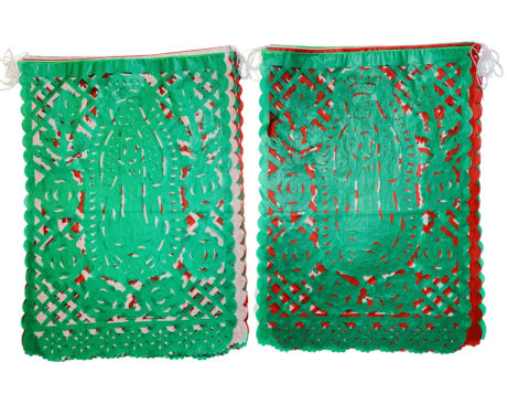 Virgin of Guadalupe papel Picado 2 pack
