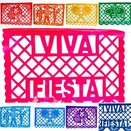 Rainbow Party Decor Viva Fiesta style