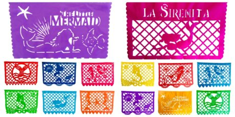 All Styles of LITTLE MERMAID BANNERS