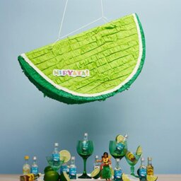 Lime and tequila pinata